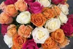 Mix de roses