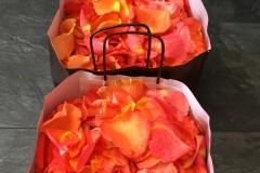 Sac de pétales de roses à lancer